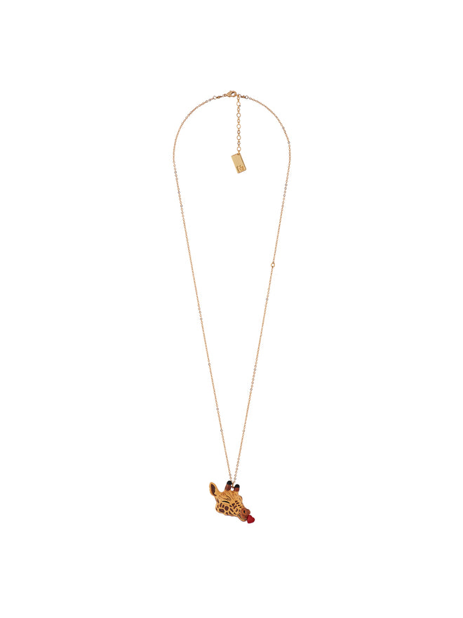 Animal'Ticon Giraffe Full of Love Long Necklace Alternate View