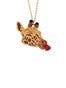 Animal'Ticon Giraffe Full of Love Long Necklace