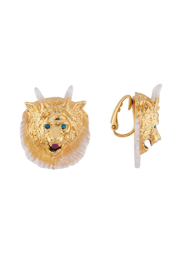 Beauty Like Beast The Beast Clip Earrings Alternate View
