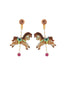 Joyland Horse's Carousel Clip Earrings
