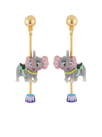 Joyland Elephant's Carousel Earrings