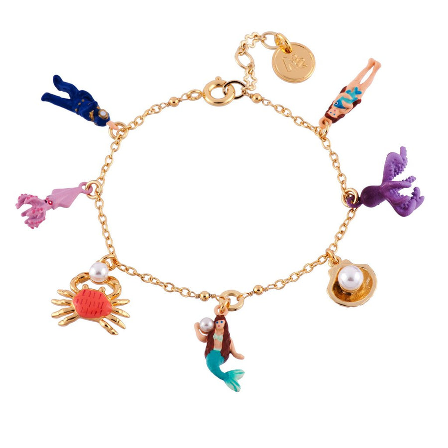 I Am A Mermaid Meeting The Diver Bangle