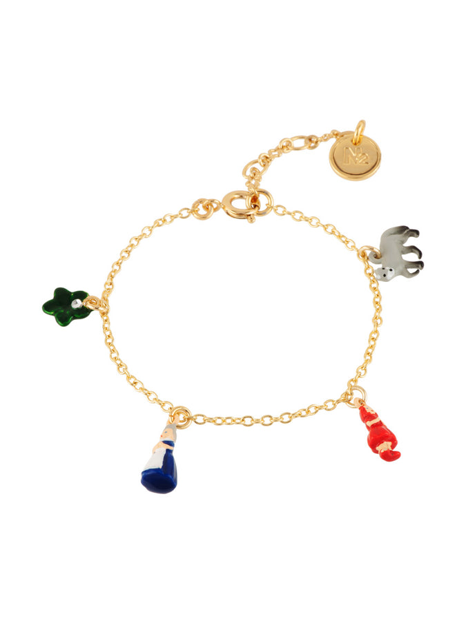 Into The Woods Multi Characters of The Little Red Riding Hood Bracelet
