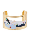 Snow White Sleeping In Her Glass Coffin Bangle