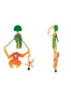 Jingle Jungle Mowgli and the King of Monkeys dangling clip-on earrings Alternate View