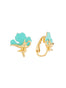 Once Upon A Time Genie's magic lamp clip-on earrings Alternate View