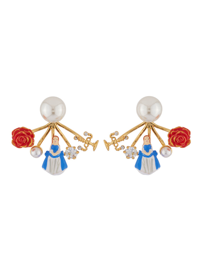 Beauty Like Beast White Pearl and Removable The Beauty Clasp