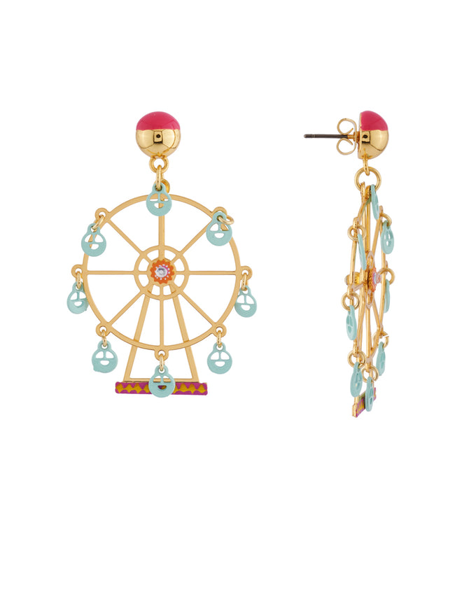 Joyland The N2 Enchanting Ferris Wheel Earrings Alternate View