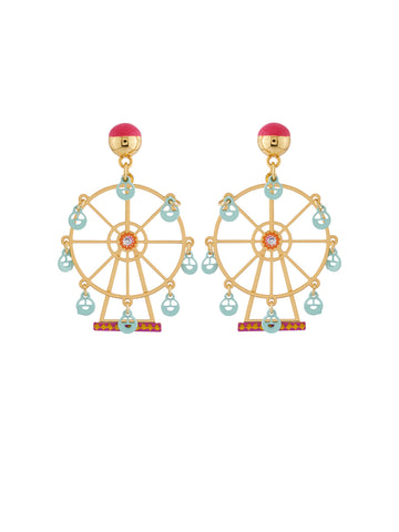 Joyland The N2 Enchanting Ferris Wheel Earrings
