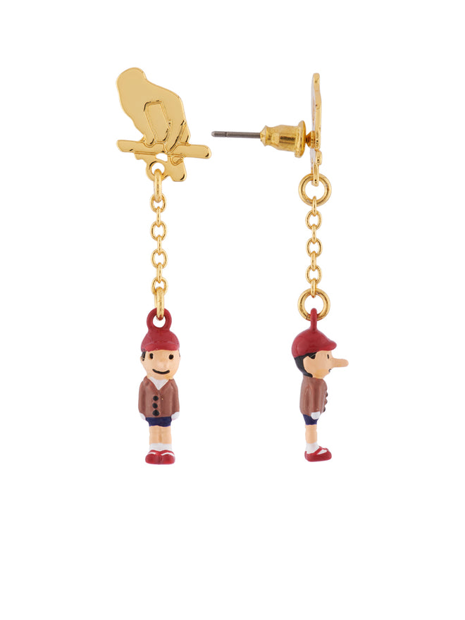 Once Upon A Time Pinocchio The Puppet Earrings Alternate View