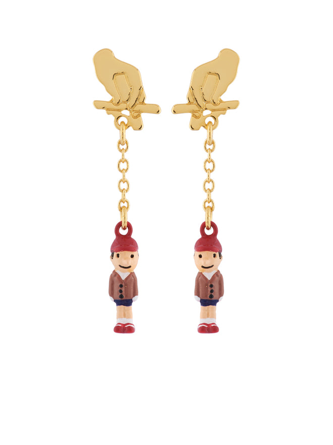 Once Upon A Time Pinocchio The Puppet Earrings