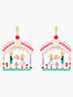 Scrumptious Epic Hansel and Gretel in the Sweet House Stud Earrings