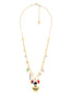 Animals Circus Rabbit and frog two rows necklace Alternate View