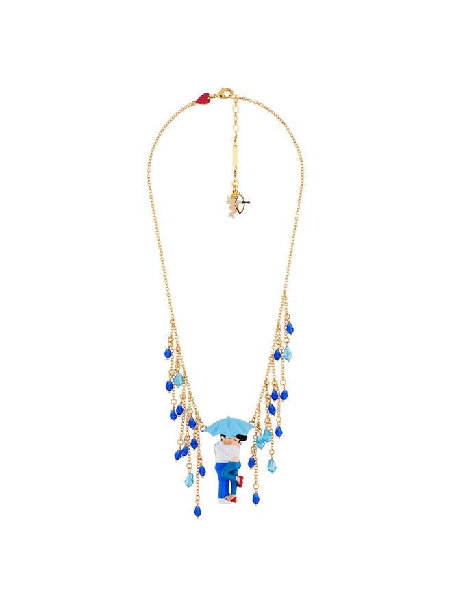 N2 X Coucou Suzette First Kiss Under The Rain Necklace Alternate View