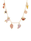 The Two Make A Pair BFF's Multi Elements Necklace