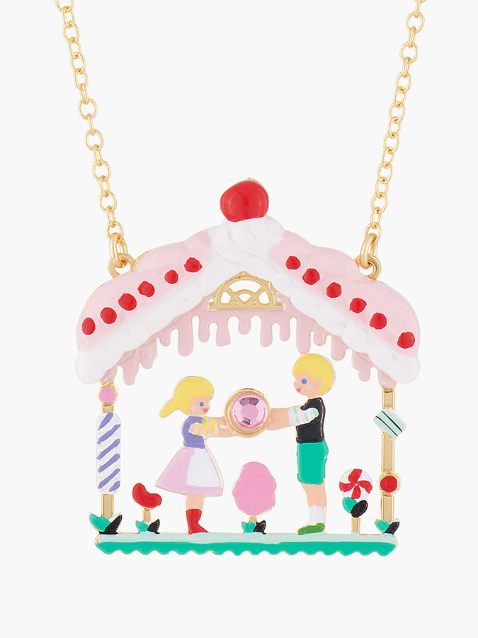 Scrumptious Epic Hansel and Gretel 's Treasure Pendant Necklace