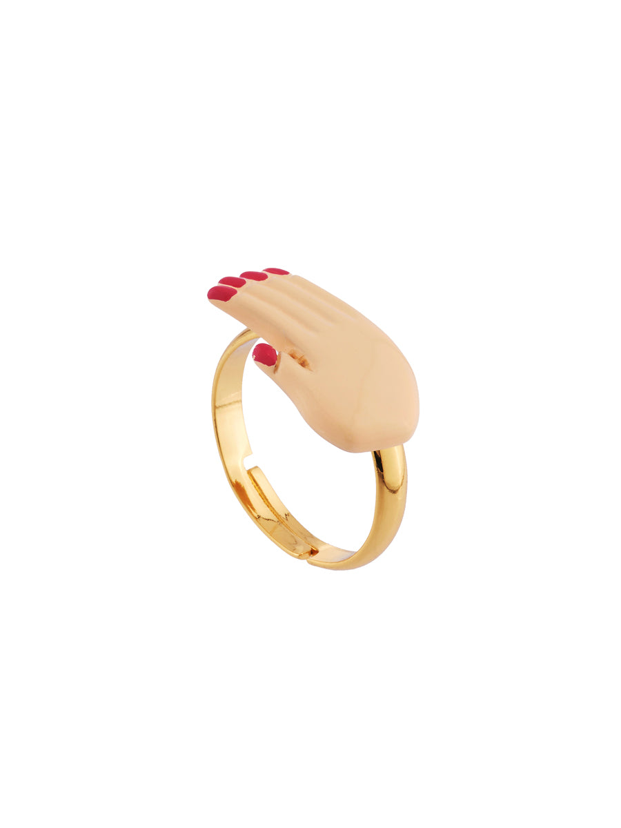 N2 X Coucou Suzette Varnished Hand Ring