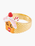 Scrumptious Epic Sugar House Cocktail Ring - Multicolor