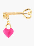 N2 X Roca Balboa Heart And Key Brooch