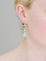 Sleeping Beauty And Crown Dormeuses Earrings Alternate View