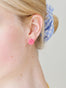 Sleeping Beauty Rose Stud Earring Alternate View