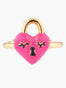 N2 X Roca Balboa Heart Padlock Adjustable Ring