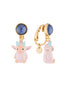 A Space Odyssey Alien dangling clip-on earrings Alternate View