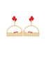 Joyland N2 Rollercoaster Clip Earrings