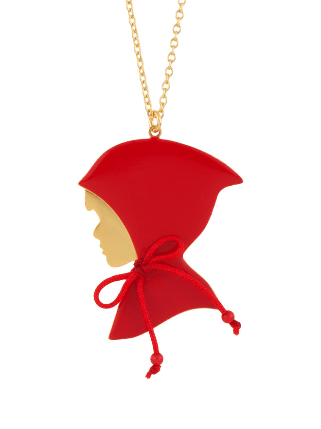 Into The Woods Little Red Riding Hood Necklace