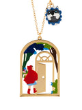 Into The Woods Little Red Riding at Grandmother's House Long Necklace