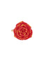 Beauty Like Beast Red Rose Ajustable Ring