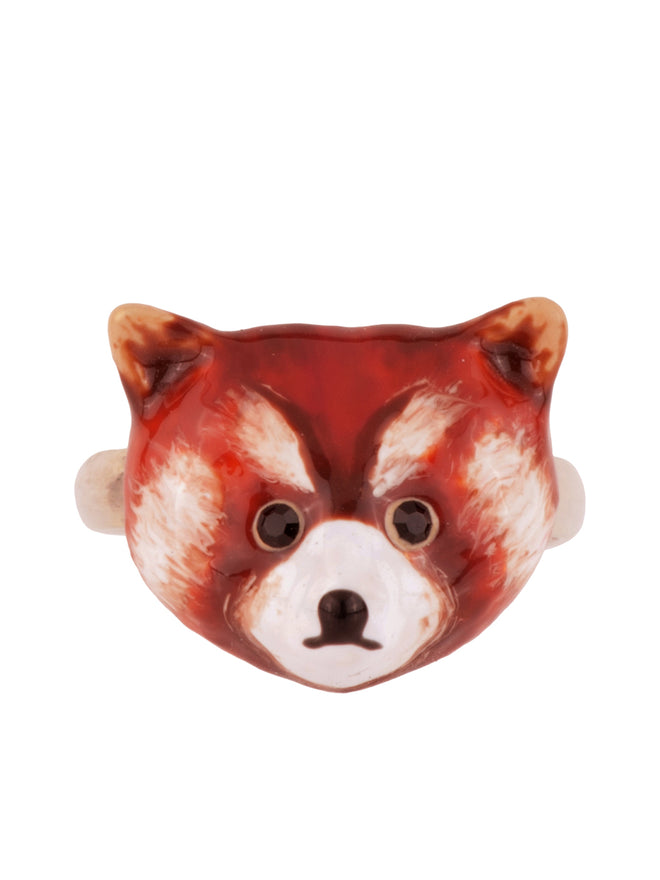 Kind and Happy Leonie The Red Panda Adjustable Ring