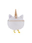 Kind and Happy Edgar The Persian Cat In A Unicorn Costume Brooch Alternate View