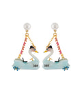 Joyland Bumper Swan Earrings