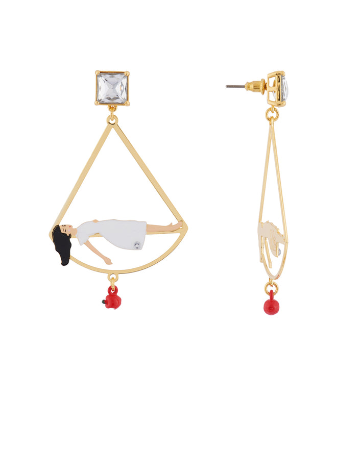 Snow White In The Death Sleep Earrings Alternate View
