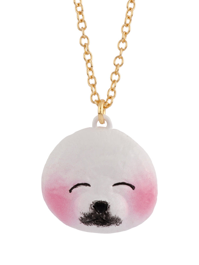 Animal'Ticons Shy Seal Long Necklace