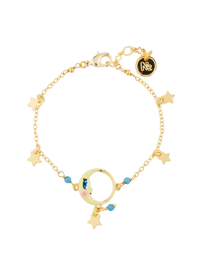 Animals Circus Moon charms bracelet