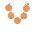 So Sweet Farandole of Strassed Shortbread Biscuits Necklace