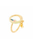 Animals Circus Moon ring - Yellow Alternate View
