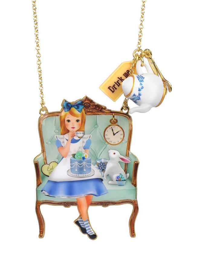 Alice's Tea Time Necklace