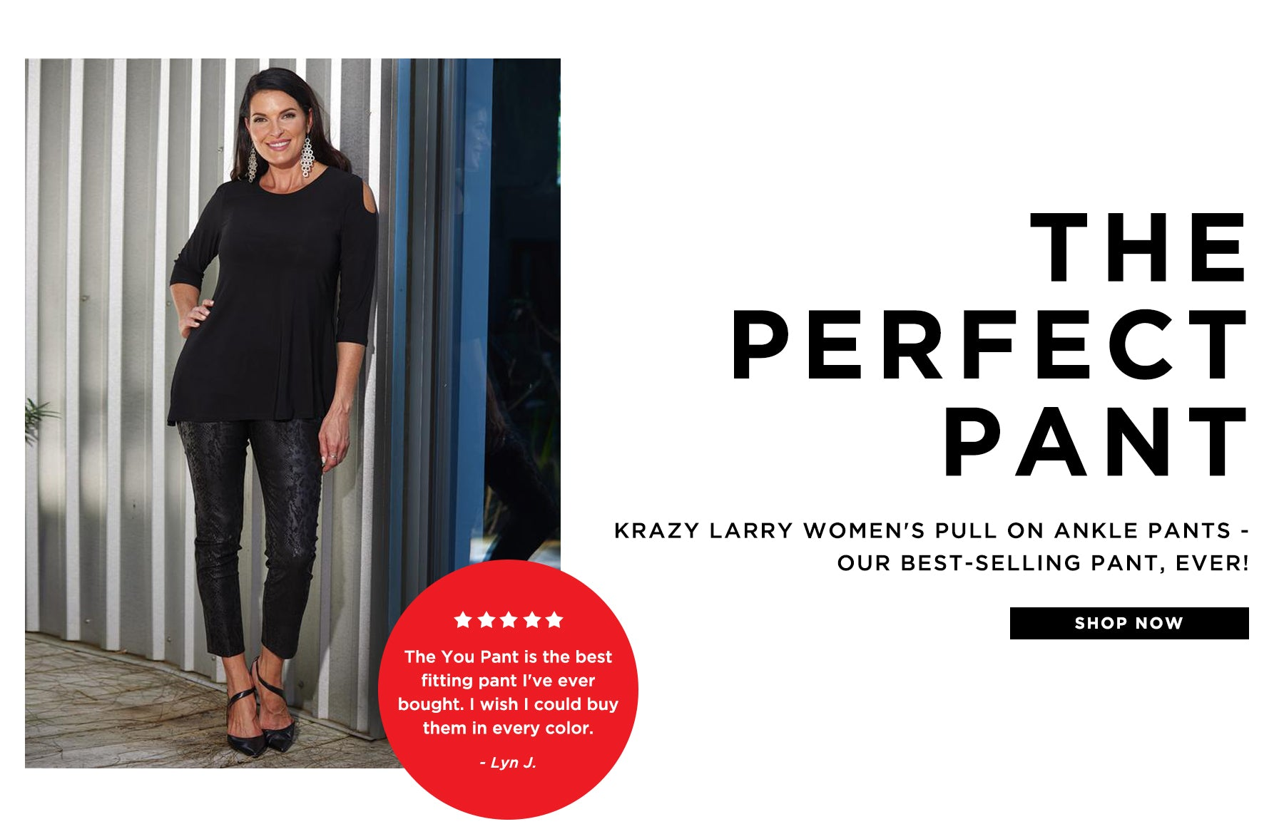 The you pant: our best-selling pant
