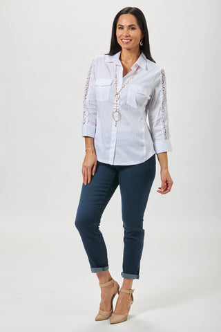 spring trends white shirting