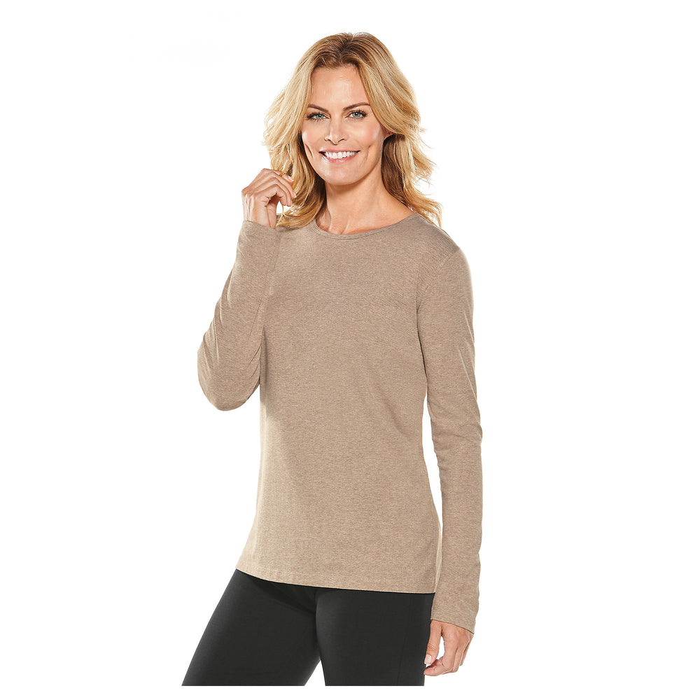 Morada Everyday Long Sleeve T-Shirt | Coolibar - Patchington