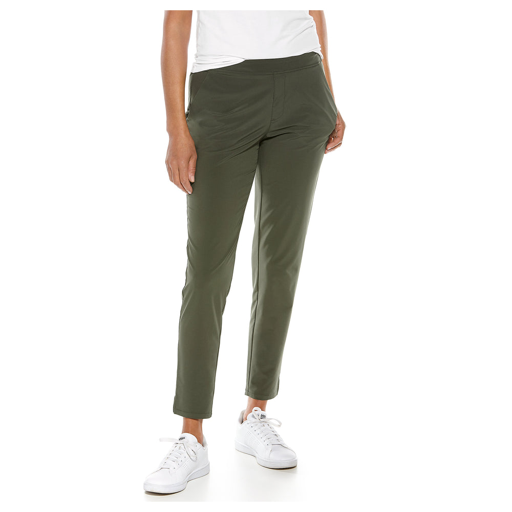Navona City Pants | Coolibar - Patchington