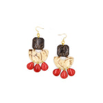 Lila Earrings | Tagua Jewelry - Patchington