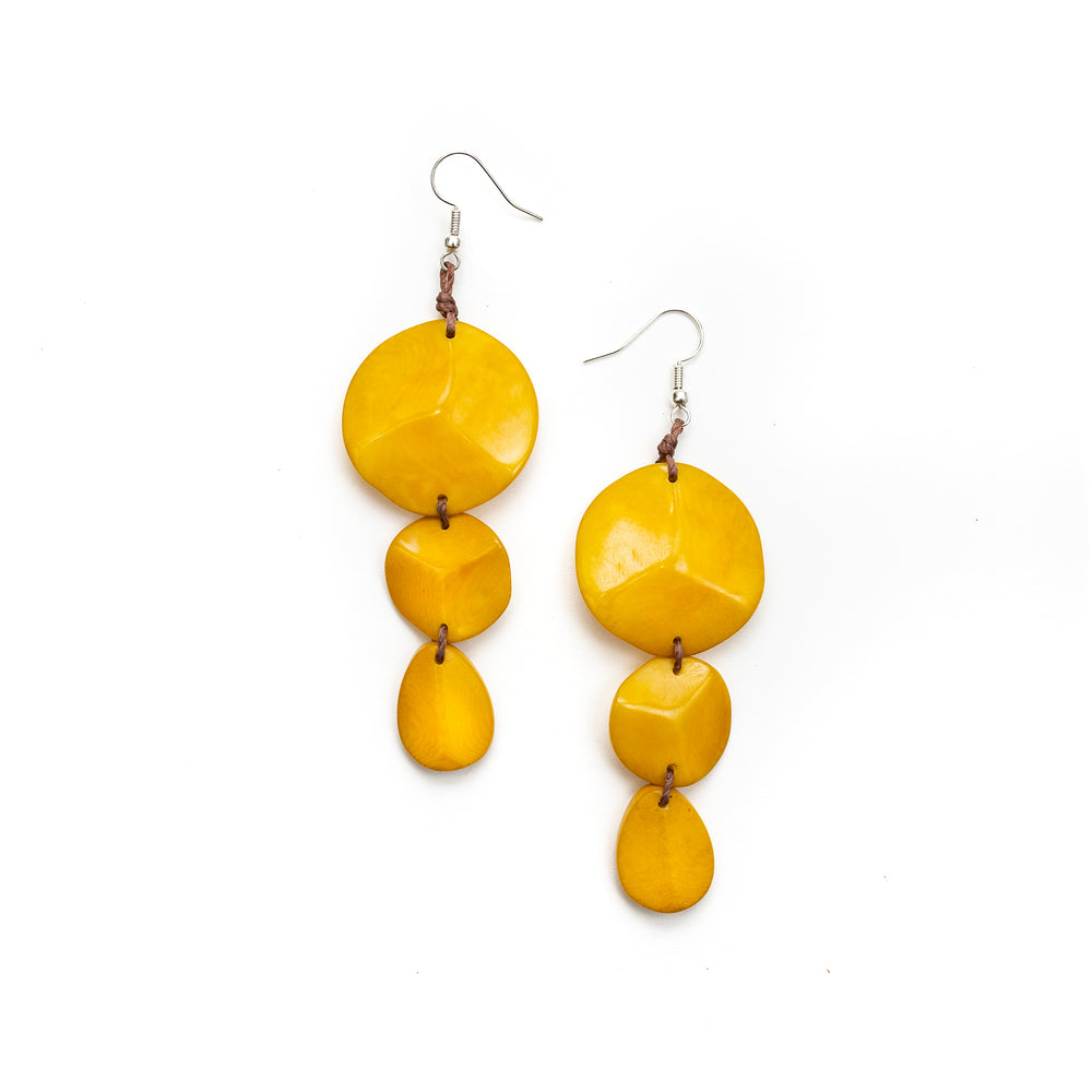 Betty Earrings | Tagua Jewelry - Patchington