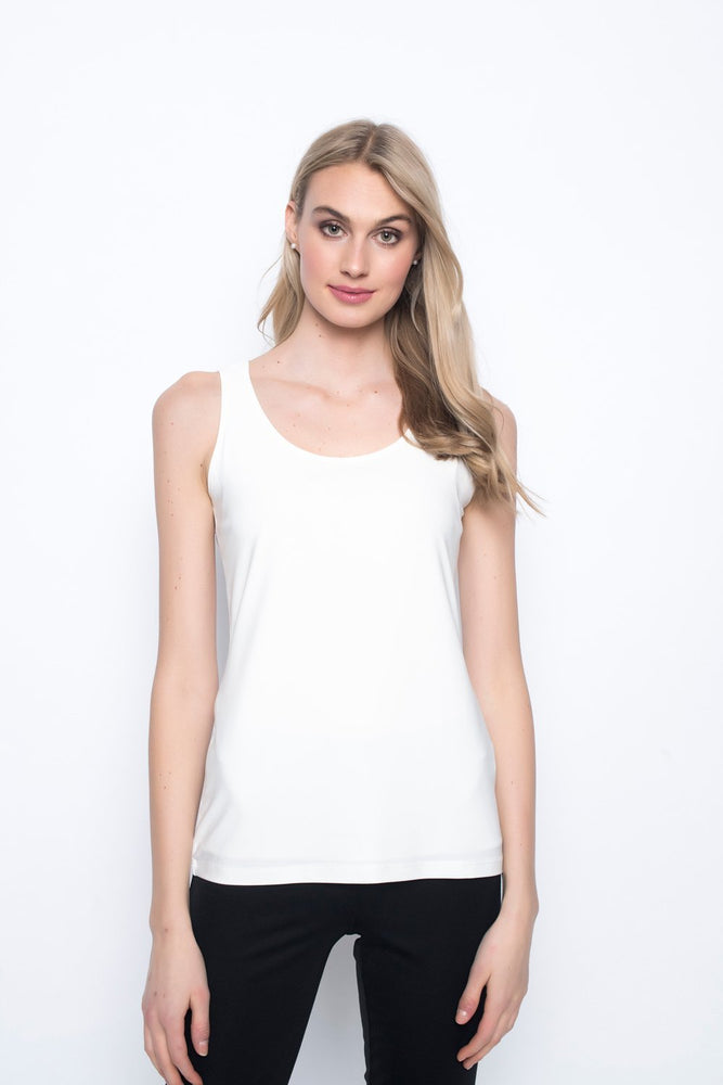 Scoop Neck Tank | Picadilly - Patchington