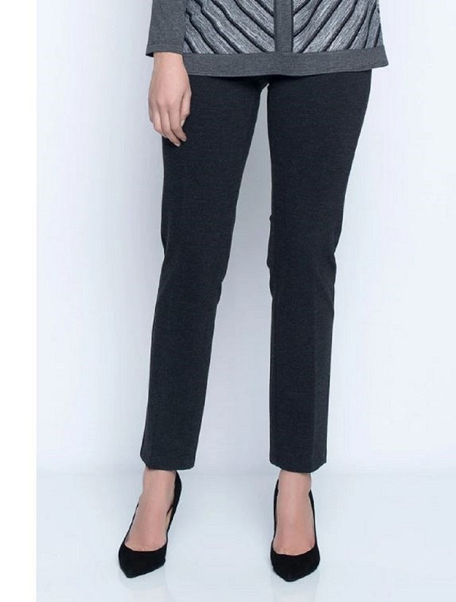 Pull On Straight Leg Pant | Picadilly - Patchington