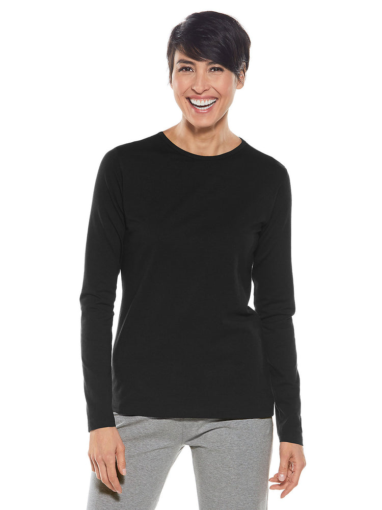 Everyday Long Sleeve T-Shirt | Coolibar - Patchington