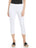 Womens White Summer Capris